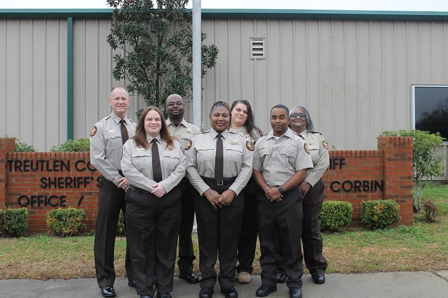 Treutlen County Sheriff's Department Jail staff